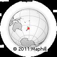 Outline Map of Tararua