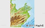 Physical 3D Map of Marlborough