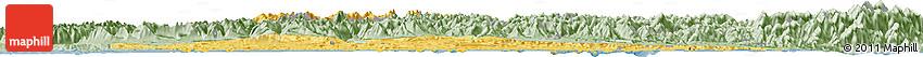 Savanna Style Horizon Map of Nelson