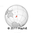 Outline Map of Nelson