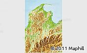Physical 3D Map of Tasman