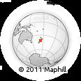 Outline Map of Tasman