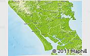 Physical 3D Map of Kaipara