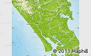 Physical Map of Kaipara