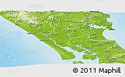 Physical Panoramic Map of Kaipara