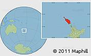 Savanna Style Location Map of Northland