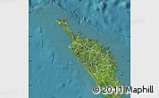 Satellite Map of Northland