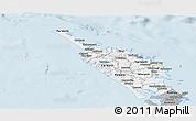 Gray Panoramic Map of Northland