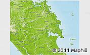Physical 3D Map of Whangarei