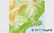 Physical 3D Map of Dunedin