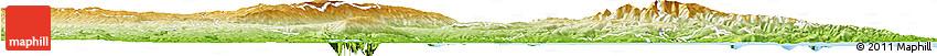 Physical Horizon Map of Dunedin