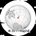 Outline Map of Dunedin