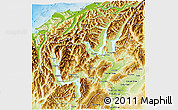 Physical 3D Map of Queenstown-Lakes
