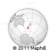 Outline Map of Auckland Islands