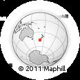 Outline Map of Invercargill