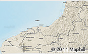 Shaded Relief 3D Map of New Plymouth