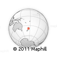 Outline Map of New Plymouth