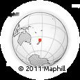 Outline Map of Franklin