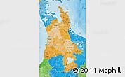 Political Shades Map of Waikato