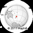 Outline Map of Otorohanga