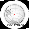 Outline Map of Waikato