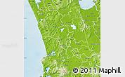 Physical Map of Waikato