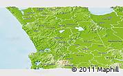 Physical Panoramic Map of Waikato