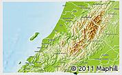 Physical 3D Map of Kapiti Coast