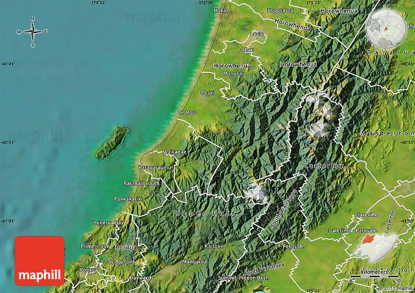 Satellite Map of Kapiti Coast on king county map, southland map, fiordland map, lake tekapo map, rotorua map, palmerston north map, milford sound map, kaikoura map, waikato map, cook strait map, invercargill map, hastings map, island map, cambridge map, queenstown map, banks peninsula map, napier map, lyttelton map, akaroa map, dunedin map,