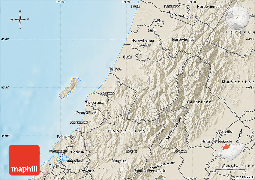Shaded Relief Map of Kapiti Coast on king county map, southland map, fiordland map, lake tekapo map, rotorua map, palmerston north map, milford sound map, kaikoura map, waikato map, cook strait map, invercargill map, hastings map, island map, cambridge map, queenstown map, banks peninsula map, napier map, lyttelton map, akaroa map, dunedin map,