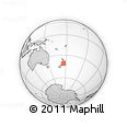 Outline Map of Wellington