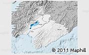 Gray 3D Map of South Wairarapa