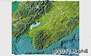 Satellite 3D Map of South Wairarapa