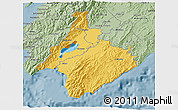 Savanna Style 3D Map of South Wairarapa