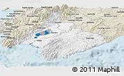 Classic Style Panoramic Map of South Wairarapa