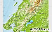 Physical Map of Upper Hutt
