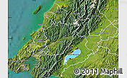 Satellite Map of Upper Hutt