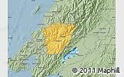 Savanna Style Map of Upper Hutt