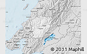Silver Style Map of Upper Hutt