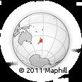 Outline Map of Upper Hutt