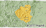 Savanna Style 3D Map of Waslala