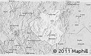 Silver Style 3D Map of Waslala