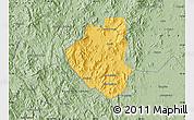Savanna Style Map of Waslala