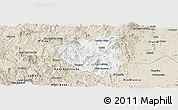 Classic Style Panoramic Map of Waslala
