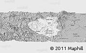 Gray Panoramic Map of Waslala