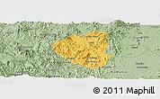 Savanna Style Panoramic Map of Waslala
