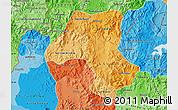 Political Shades Map of Esteli