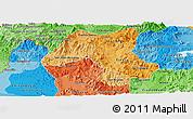 Political Shades Panoramic Map of Esteli