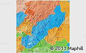 Political Shades 3D Map of Jinotega