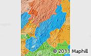 Political Shades Map of Jinotega